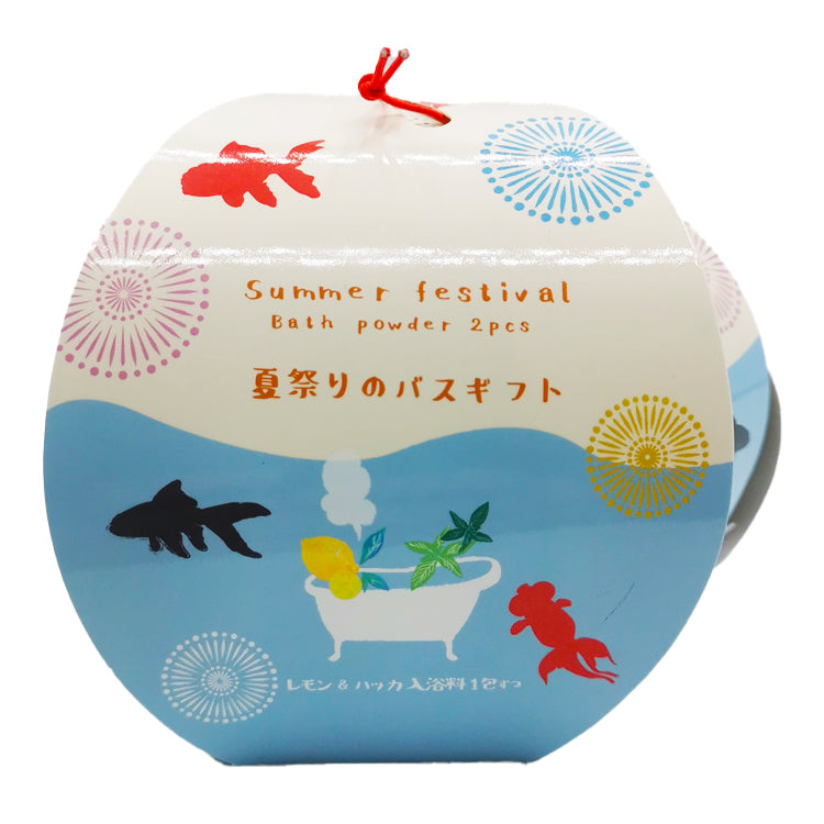 Summer Festival Bath Powder-Goldfish 20g