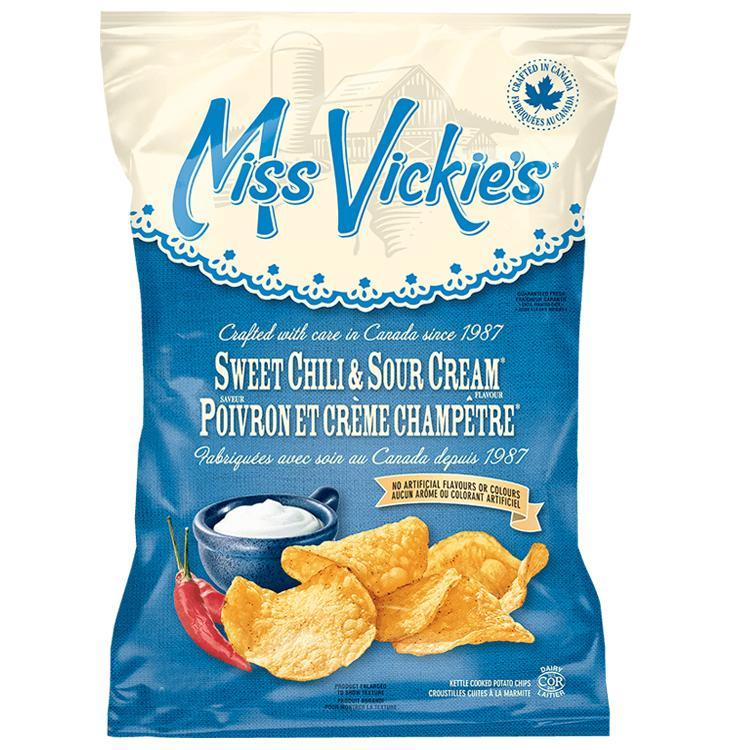 Miss Vickie's Potato Chips-Sweet Chili&Sour Cream 200g