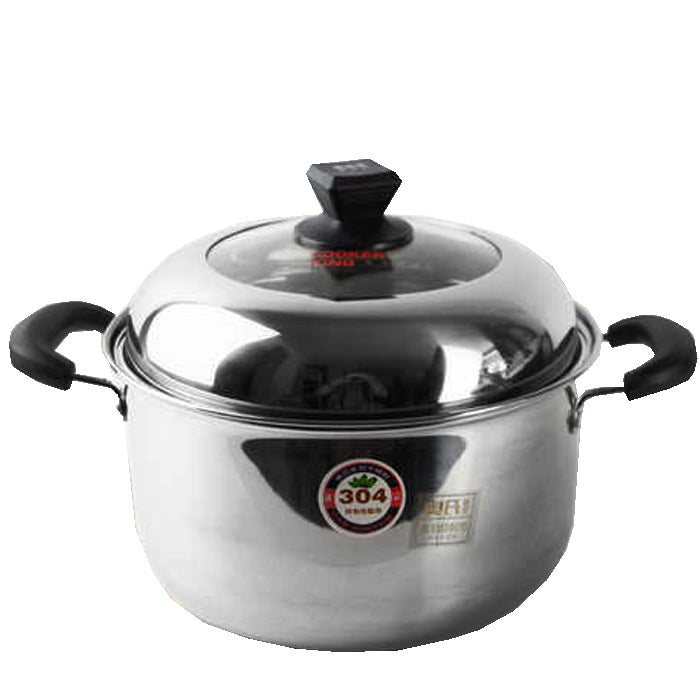CookerKing Stianless Steel Casserole with Induction 24cm