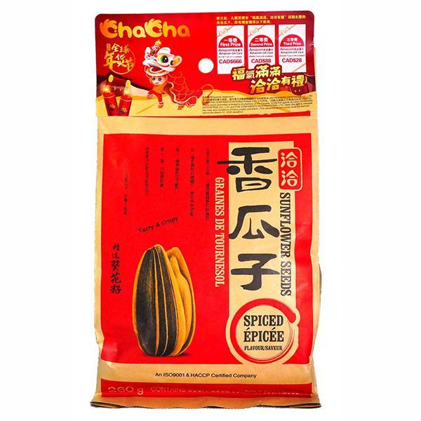 ChaCha Sunflower Seeds-Spiced 260g