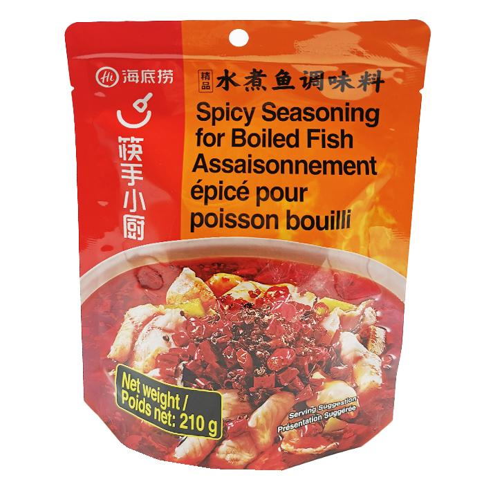 Haidilao Spicy Seasoning for Preparation of Boiled Fish 210g