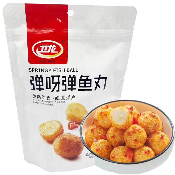 WL BBQ Flavor Springy Fish Ball 108g