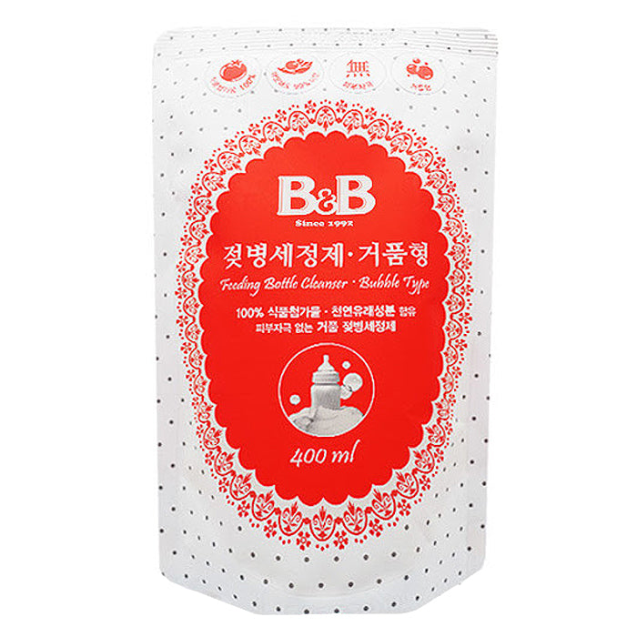 B&B Feeding Bottle Bubble Cleanser-Refill 450ml