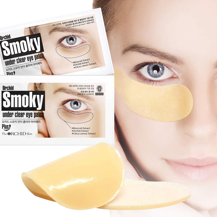 THE ORCHID SKIN Orchid Smoky Under Clear Eye Patch 10 pairs