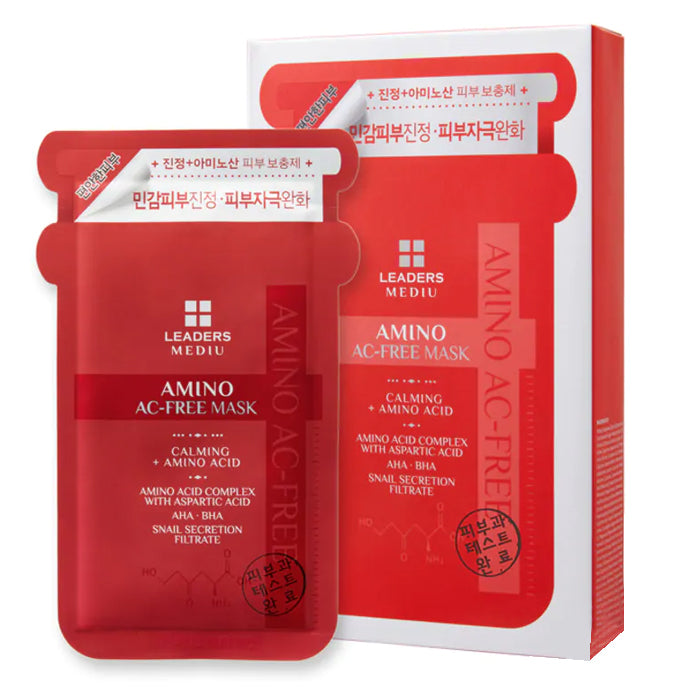 Leaders Mediu Amino AC-Free Mask 10*25ml