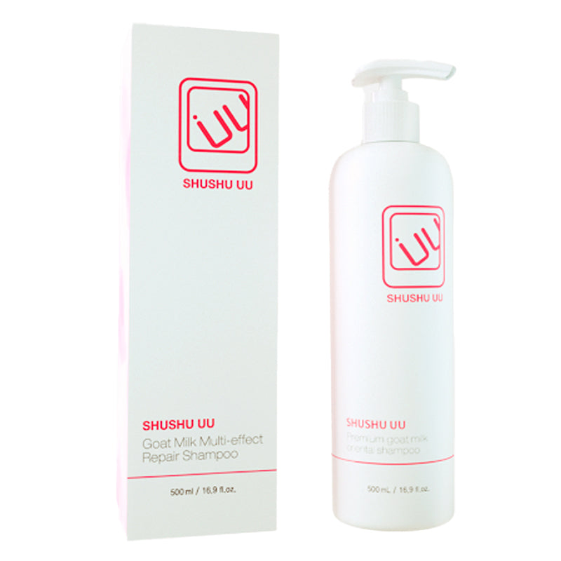 SHUSHU Goat Milk Multi-effect Repair Shampoo 500ml