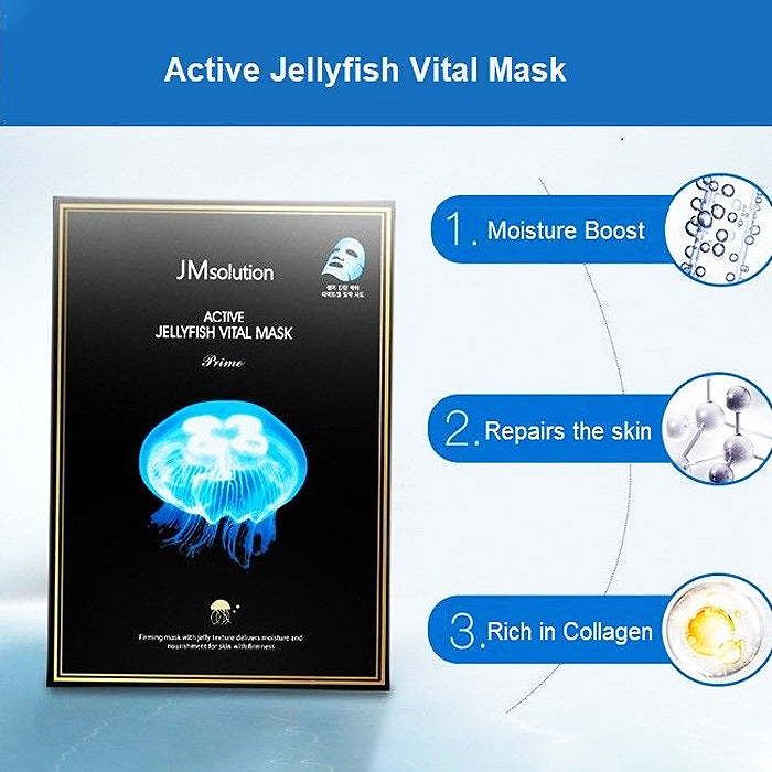 JM Solution Active Jellyfish Mask 10Pcs