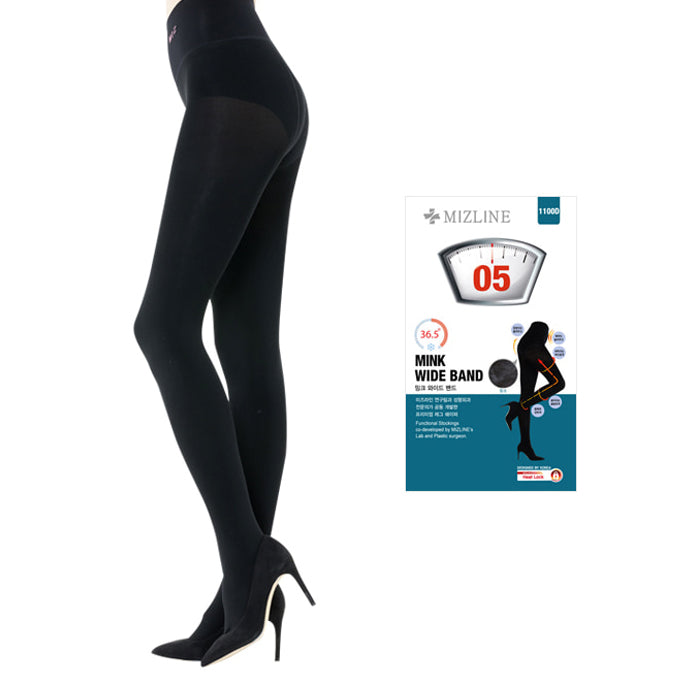 MIZLINE Mink Wide Band Leggings 1100D