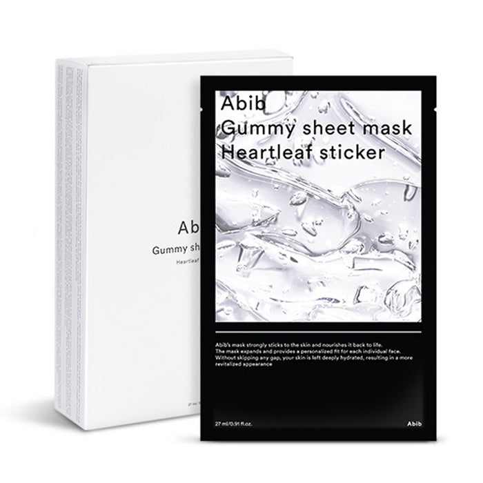 ABIB Gummy Sheet Mask Heartleaf Sticker 10Pack