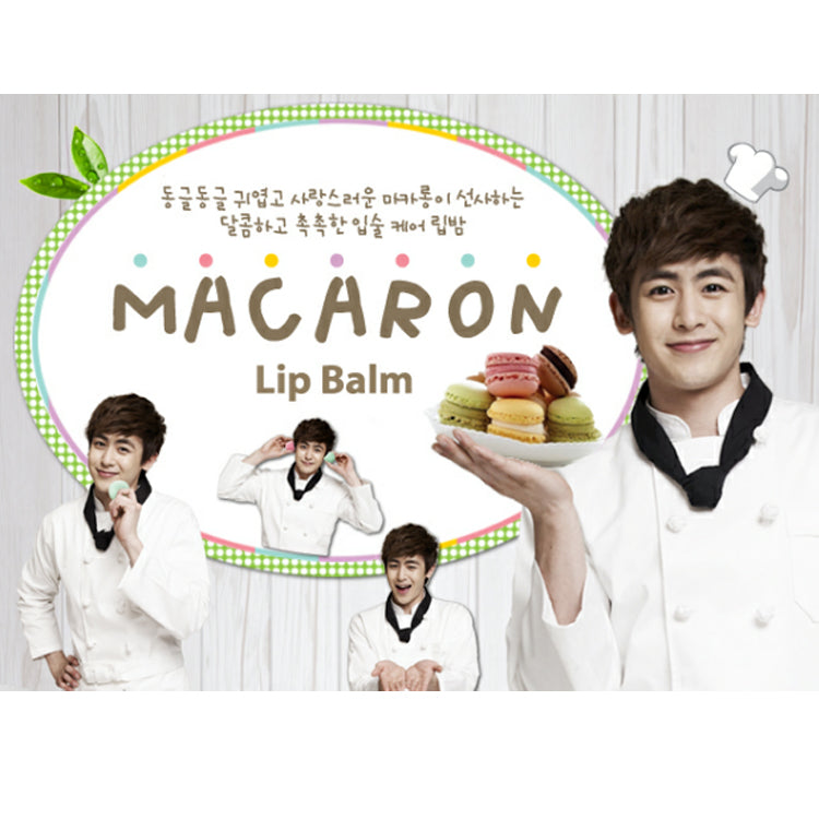 It's Skin Macaron Grape Lip Balm 9g