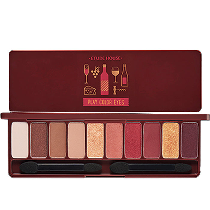 ETUDE HOUSE Play Color Eyes-Wine Party 0.9g*10