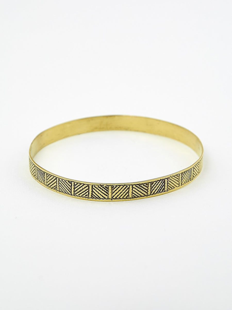 Fine Arrow Bronze Bracelet