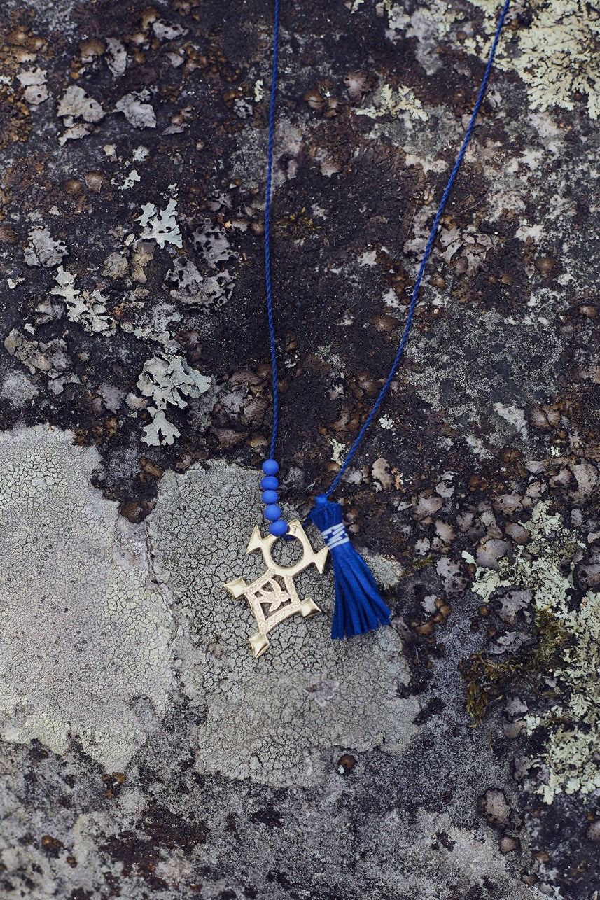 AGADEZ CROSS NECKLACE