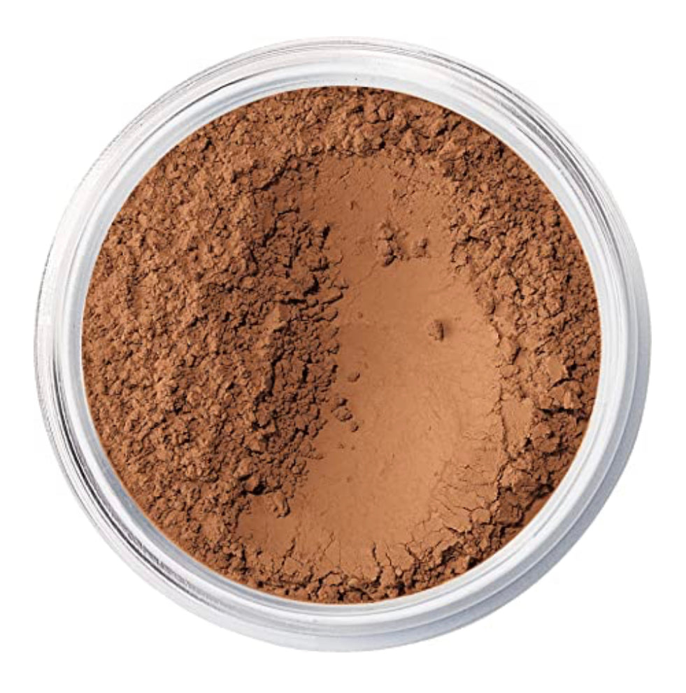 Our amazingly lightweight, loose powder foundation provides sheer-to-full coverage with a no-makeup look and feel that lasts for up to eight hours. A fan favourite for two decades and counting, this natural-looking foundation is made with just five mineral ingredients and promotes clearer, healthier looking skin.