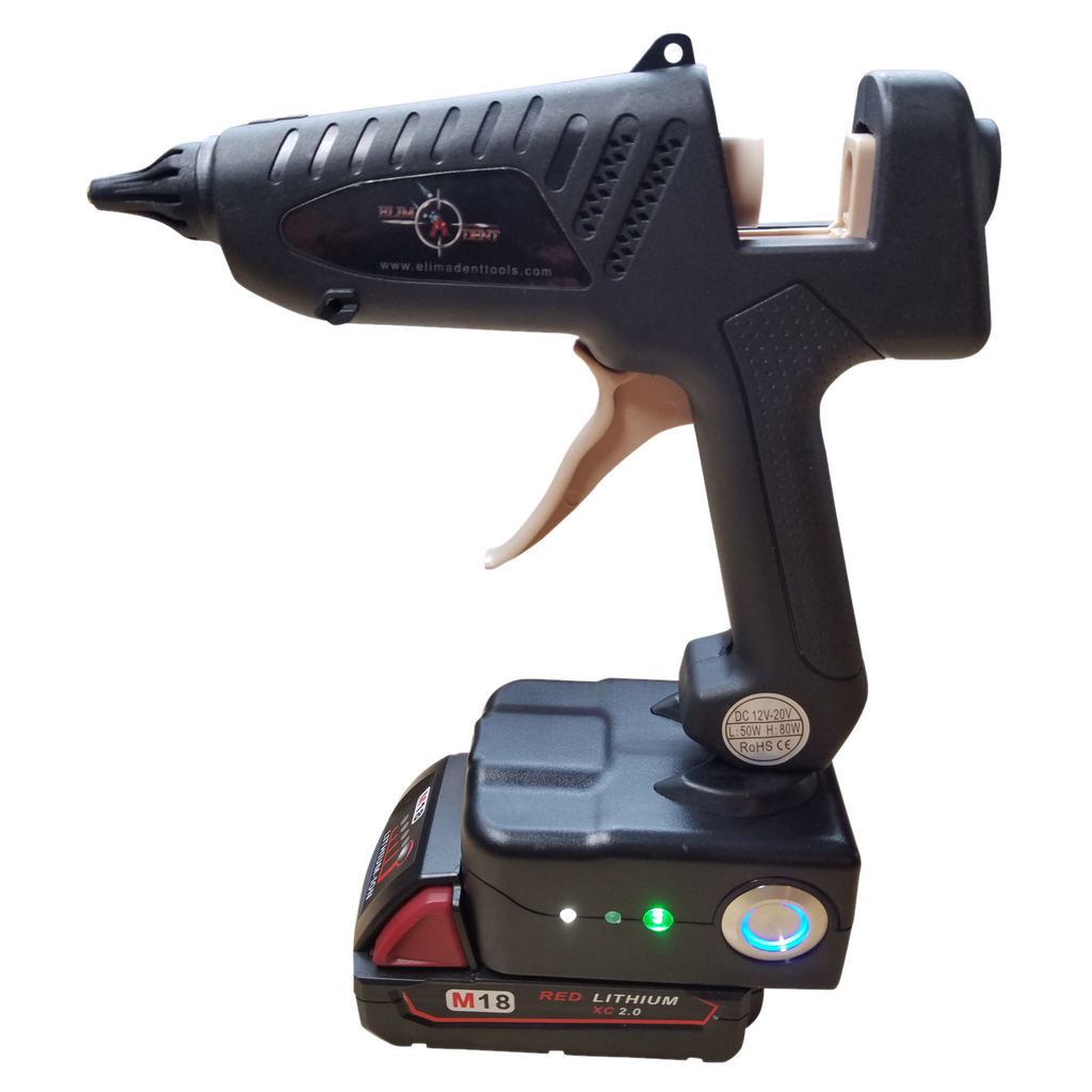 Milwaukee Cordless Glue Gun - Elimadent Tools