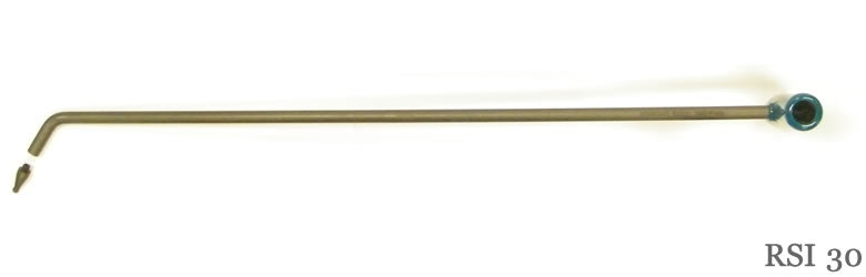 "30"" Single Bend Interchangeable tip PDR Rod"