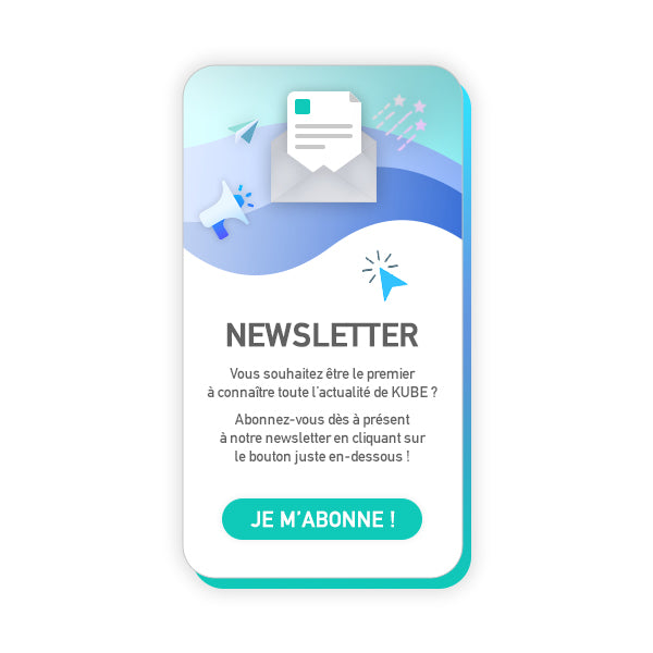 Création site newsletter pas cher, Kube site web rapide, création site personnalisé newsletter, eshop sur-mesure newsletter, Kube création eshop mobile