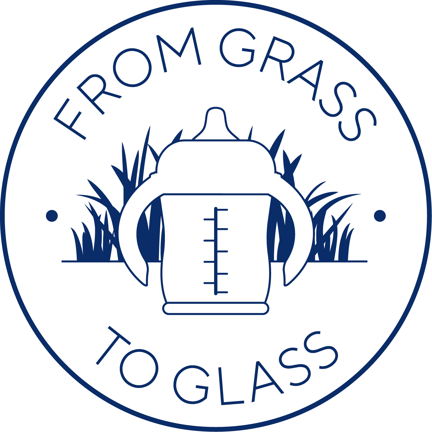From grass to glass