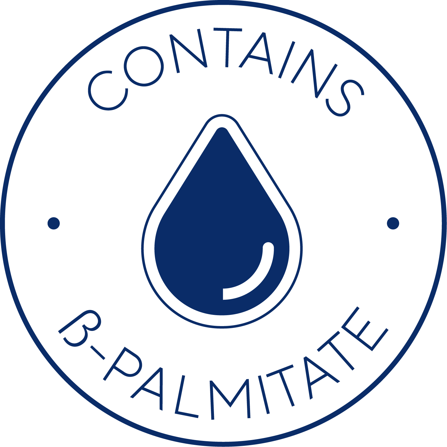 Contains B-palmitate