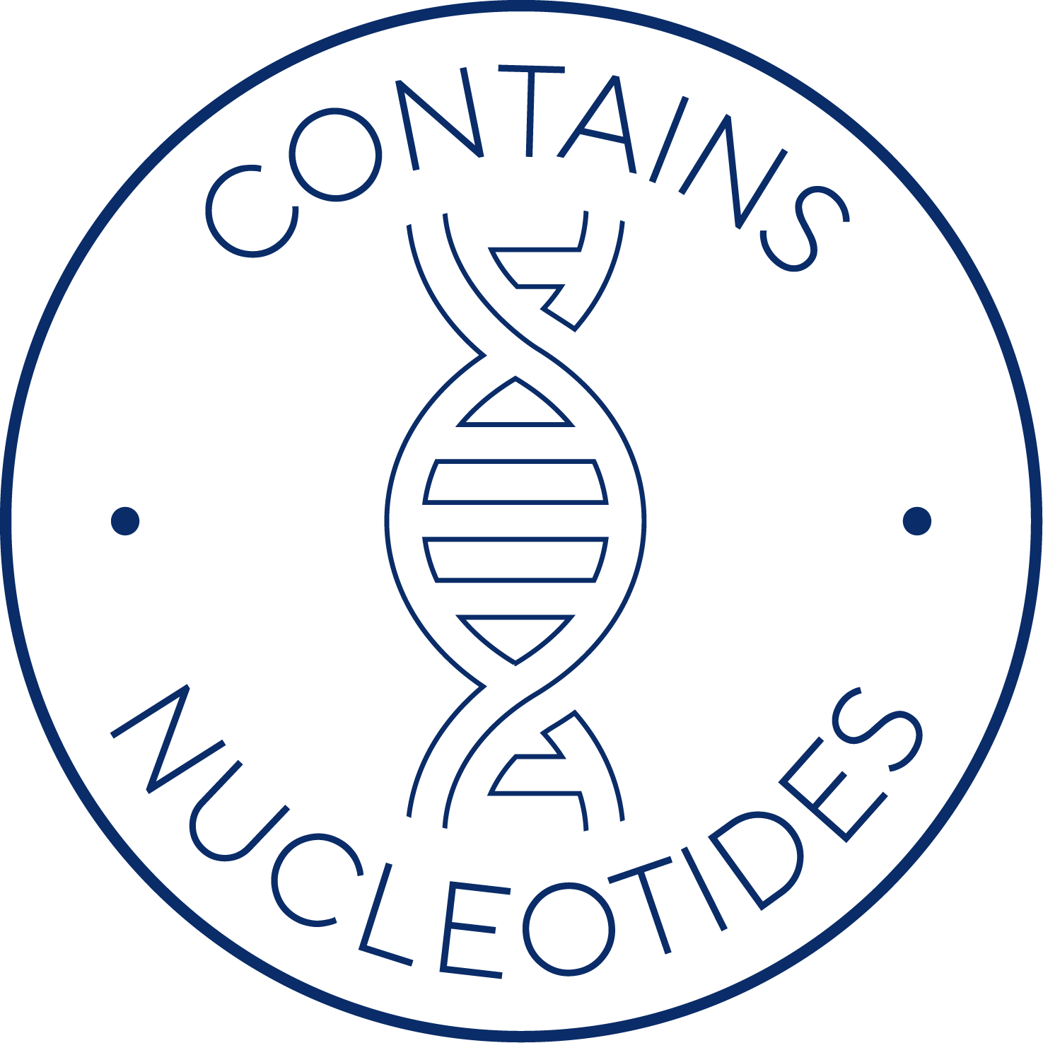 Contains nucleotides