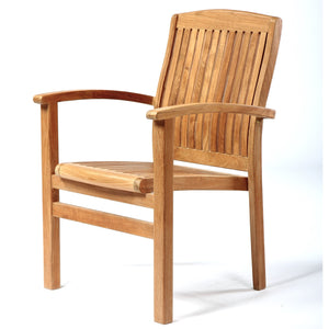 CHR519 - Colorado Teak staking chair