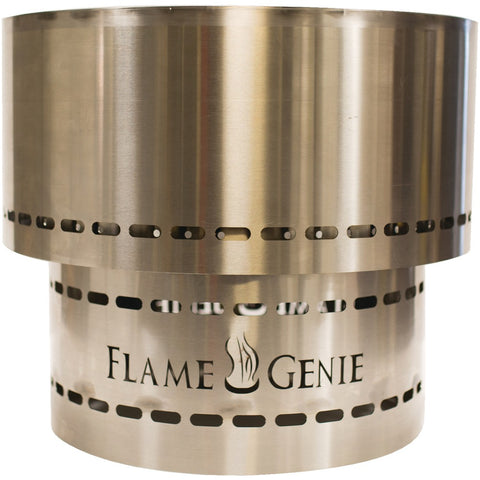 Flame Genie FG-19-SS Flame Genie INFERNO Wood Pellet Fire Pit (Stainless Steel)