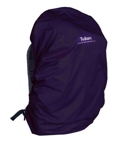 Outdoor Riding Backpack Rain Cover Waterproof Backpack Cover-40 L Dark Purple