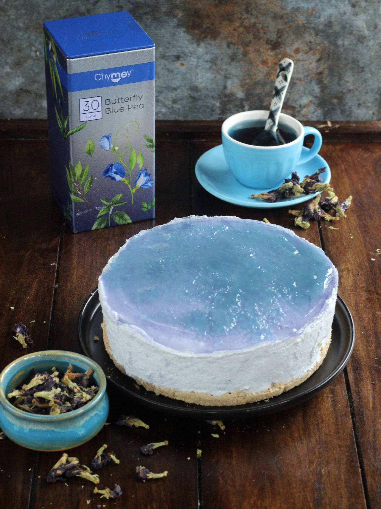 Bite into Tea: Recipe for an Exotic Tea Cheesecake