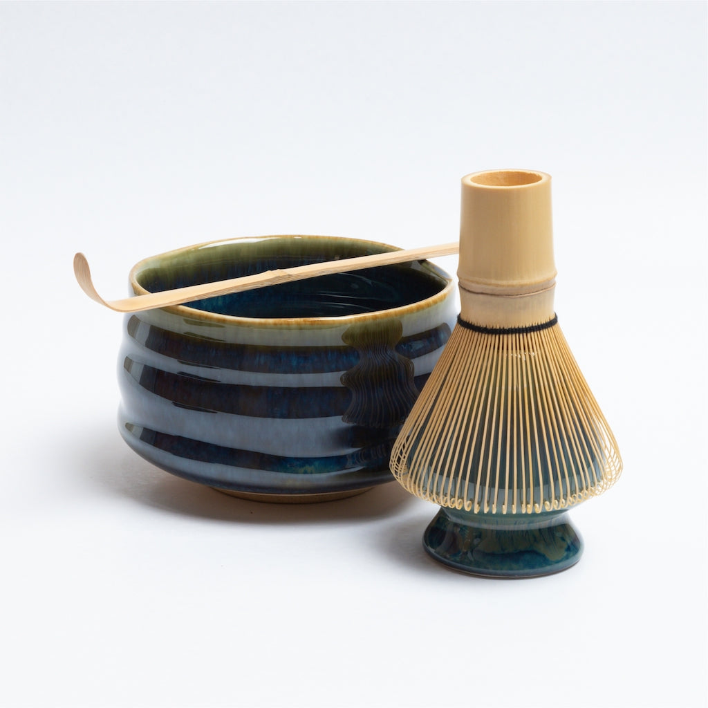 Ceremonial Matcha Brewing Set - Turquoise