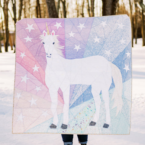 Unicorn Abstractions Quilt