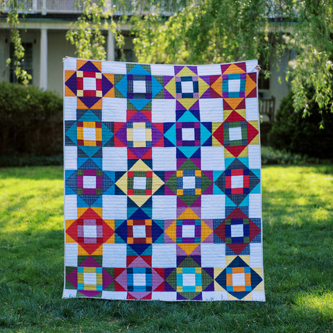 Meadowland Pieced Quilt