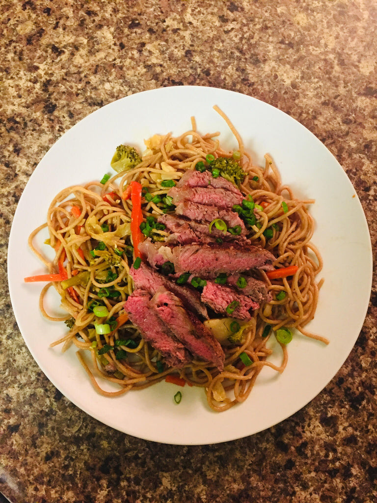 Steak & Veggie Lo Mein