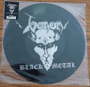 Venom  ‎– Black Metal  Vinyle, LP, Album, Picture Disc, Réédition