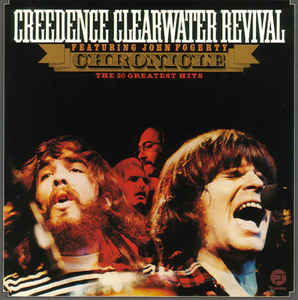 Creedence Clearwater Revival Featuring John Fogerty ‎– The 20 Greatest Hits  2 × Vinyle, LP, Compilation, Réédition