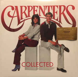 Carpenters ‎– Collected  2 × Vinyle, LP, Compilation