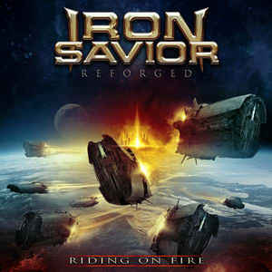 Iron Savior ‎– Reforged (Riding On Fire)  2 × Vinyle, LP, Album, Édition Limitée, Bleu Clair