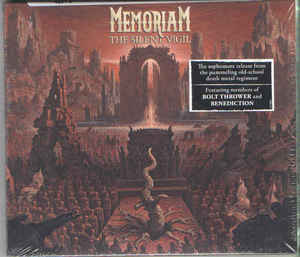 Memoriam ‎– The Silent Vigil  CD, Album, Digipak