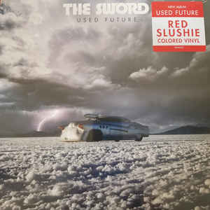 The Sword ‎– Used Future Vinyle, LP, Album, Stéréo, Rouge
