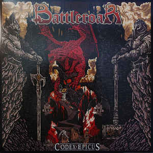 Battleroar ‎– Codex Epicus  Vinyle, LP, Album