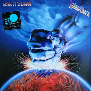 Judas Priest ‎– Ram It Down  Vinyle, LP, Album, Réédition, 180 grammes