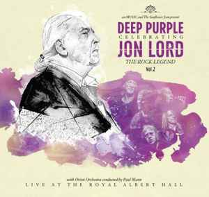 Artistes Divers ‎– Celebrating Jon Lord, The Rock Legend, Vol.2 -  2 × Vinyle, LP, Album + Blu Ray