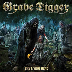 Grave Digger  ‎– The Living Dead  Vinyle, LP, Album, Edition limitée