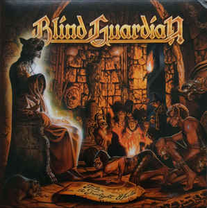 Blind Guardian ‎– Tales From The Twilight World Vinyle, LP, Album, Edition limitée, Réédition, Remasterisé, Brun