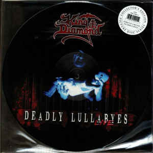 King Diamond ‎– Deadly Lullabyes (Live) 2 × Vinyle, LP, Album, Edition limitée, Picture Disc, Réédition