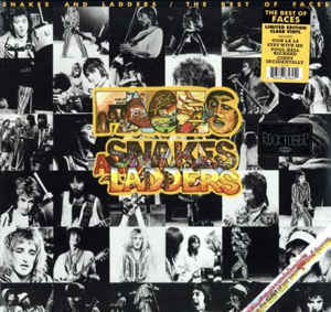 Faces  ‎– Snakes And Ladders / The Best Of Faces  Vinyle, LP, Compilation, Edition limitée, Vinyle transparent