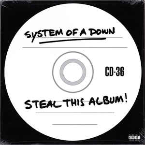 System Of A Down ‎– Steal This Album!  2 × Vinyle, LP, Album, Réédition