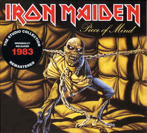 Iron Maiden ‎– Piece Of Mind  CD, Album, Réédition, Remasterisé, Digipak