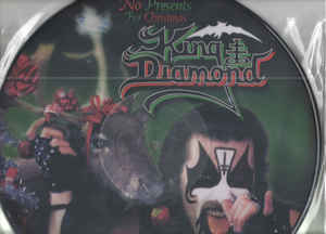 "King Diamond ‎– No Presents For Christmas  Vinyle, 12 "", Maxi-Single, Édition Limitée, Picture Disc, Réédition"