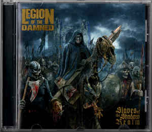Legion Of The Damned ‎– Slaves Of The Shadow Realm  CD, Album