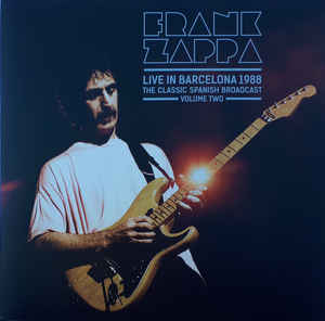 Frank Zappa ‎– Live In Barcelona 1988 Volume Two 2 × vinyle, LP, rouge